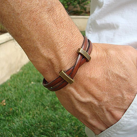 Genuine Leather Bracelet with Magnetic Clasp                                                                                                                                                                                 More