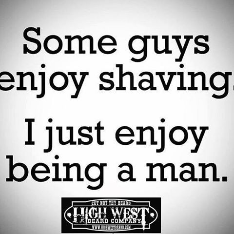 Seems like a lot of work just to look like less of a man. To each his own but if you do want to be the man that you were born to be, grow your face fur and tame it with HighWest Beard products! Beard on brothers.  #livefree #letyourrazorrust #bearded #scentofthemonth #beard #beards #badassbeards #beardkit #ultimatebeardbox #beardedbrotherhood #beardvitamin #beardedbrothers #beardon #highwestbeard #hwb #mustachewax #beardoil #beardbalm #facefur #facialhair #beardedvillains #beardcare…