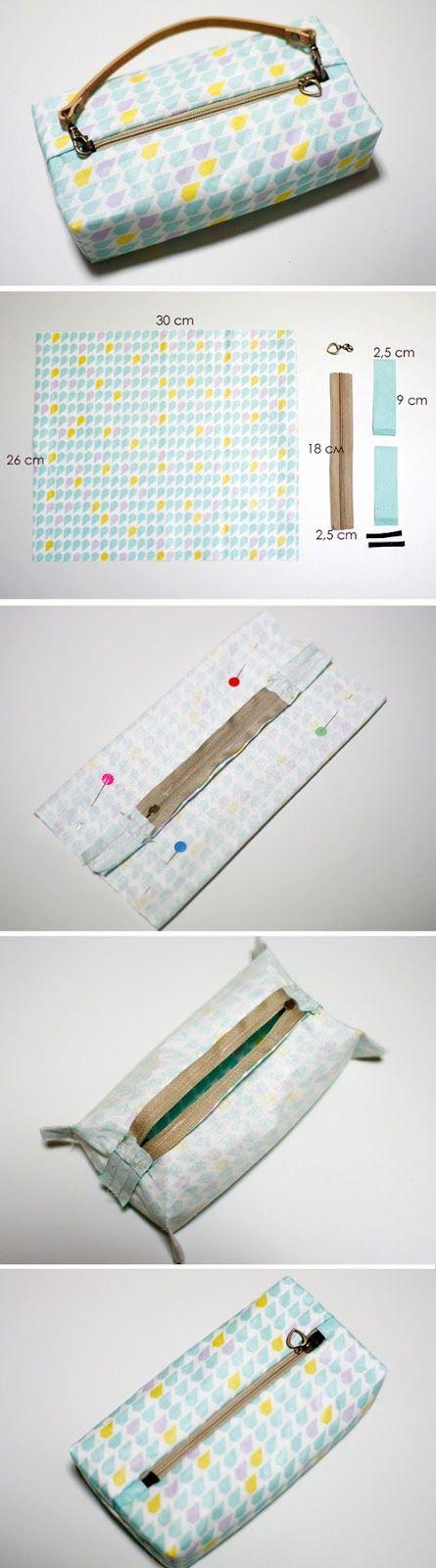 Boxy Pouch / Bag DIY tutorial with patterns.  http://www.handmadiya.com/2015/10/boxy-pouch-tutorial.html