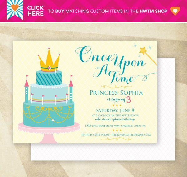 150 best free - printables parties - princess images on pinterest, Invitation templates