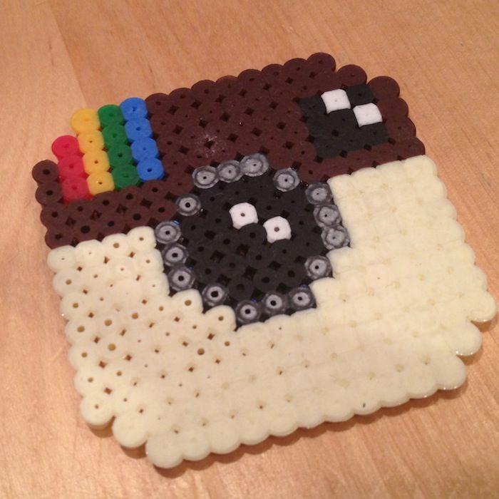 How to make Hama Beads Instagram!