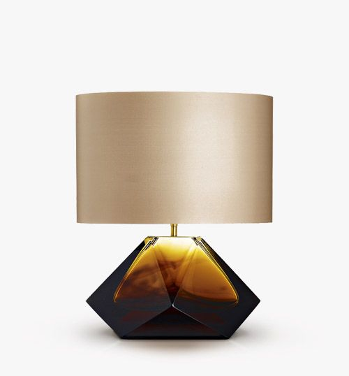 find this pin and more on glass table lights by - Lamp Shades For Table Lamps
