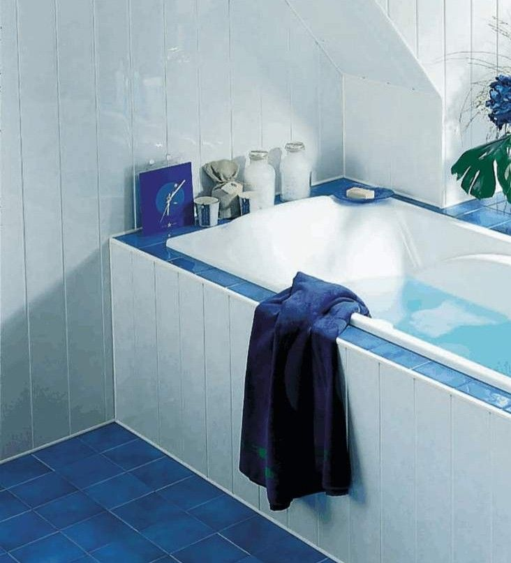 Bath Panel Made From Waterproof Wall Panelling