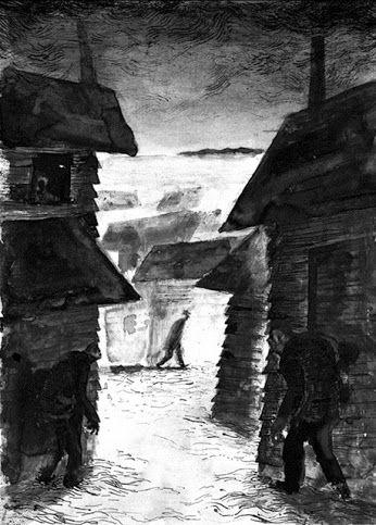 """""""La sombra sobre Innsmouth"""" fue el primer relato que leí escrito por Lovecraft, y sigue siendo mi favorito de entre toda su extensa producción."""