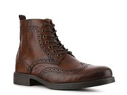 Aston Grey Staten Wingtip Boot MAN I LOVE YOUR SHOEZ