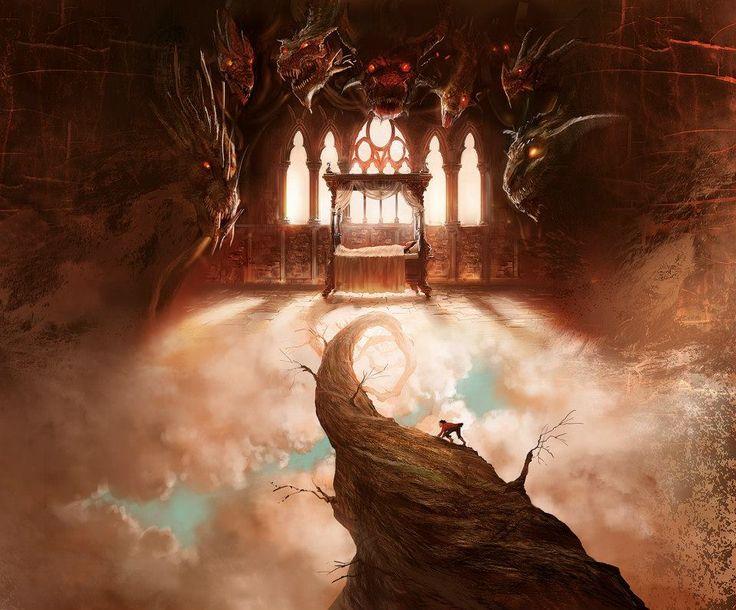 Illustration by Marc Simonetti. Art Cover: Dragões de Éter III, Raphael Draccon