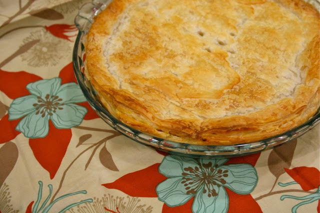 make it perfect: .Thermomix Cooking - Chicken and Vegetable Pie.