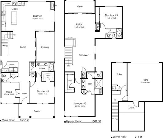 Legend homes floor plans thefloors co for 16 x 48 house plans