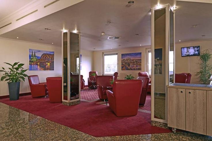 Lobby im H+ Hotel Frankfurt Airport West - Offizielle Hotelseite