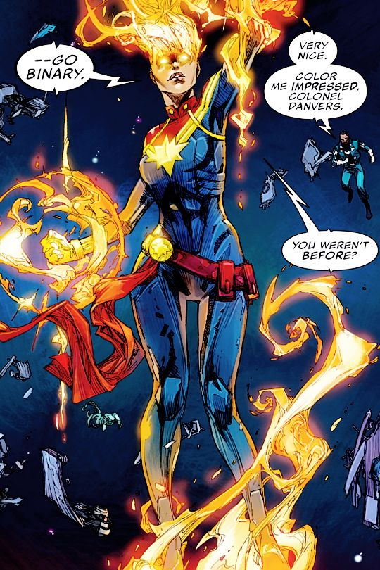 captain marvel binary