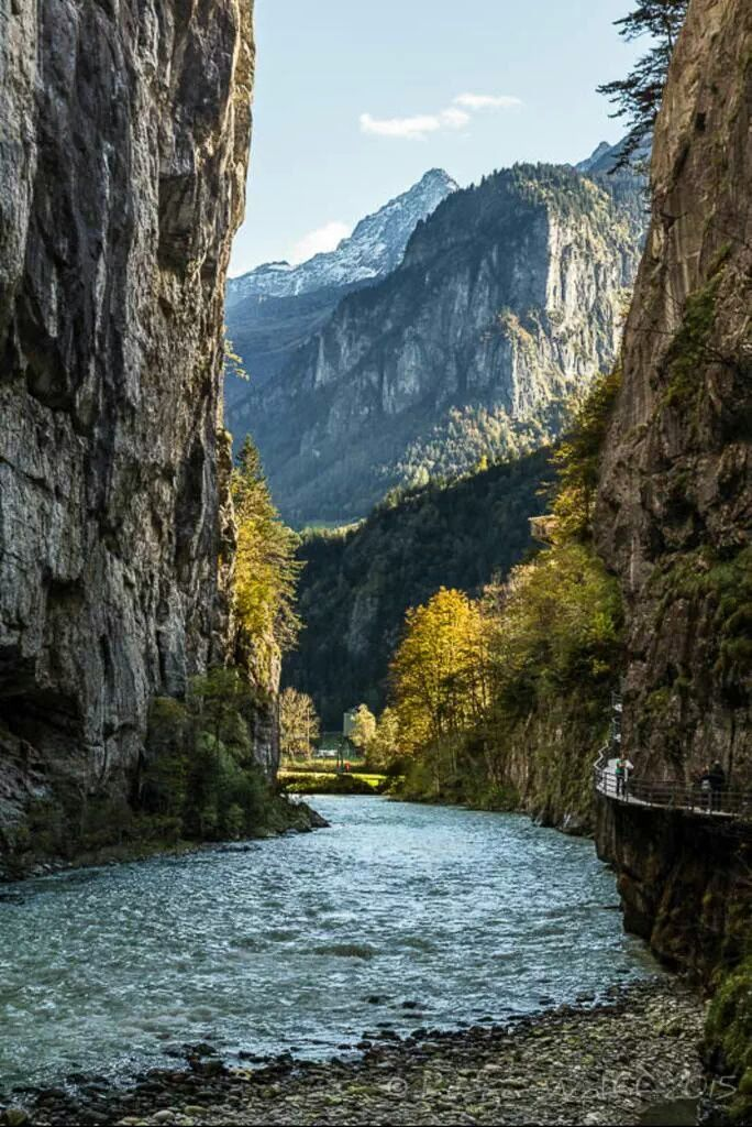 akhan2001: Aare gorge. Switzerland