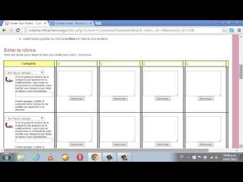Cómo crear rúbricas automáticas en Google - YouTube