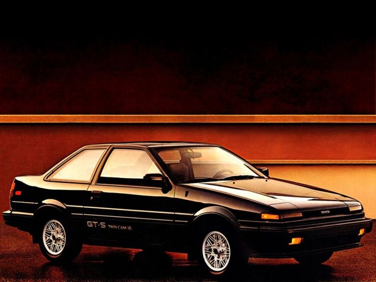Toyota Corolla GT-S Sport Coupe AE86 (1985-1987) – Your weapon of choice if you have to deliver tofu in the morning. #JDM #JapaneseCar #InitialD #Coupe