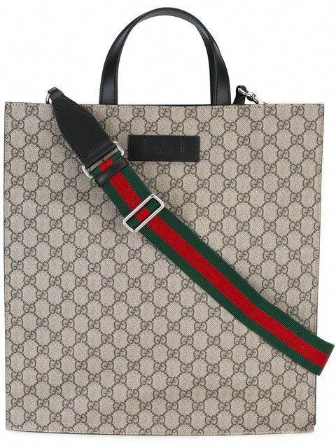 931ef9596b7a18 GUCCI Gg Supreme Tote. #gucci #bags #shoulder bags #hand bags #canvas #tote  # #Guccihandbags