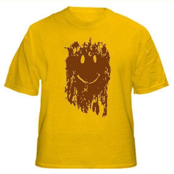 5d8d1c0407b Mud Smiley Face T-Shirt similar to the tshirt in Forest Gump $22.99 |  Humorous and Serious T-Shirts in 2019 | Running shirts, Movie t shirts, Mud  run