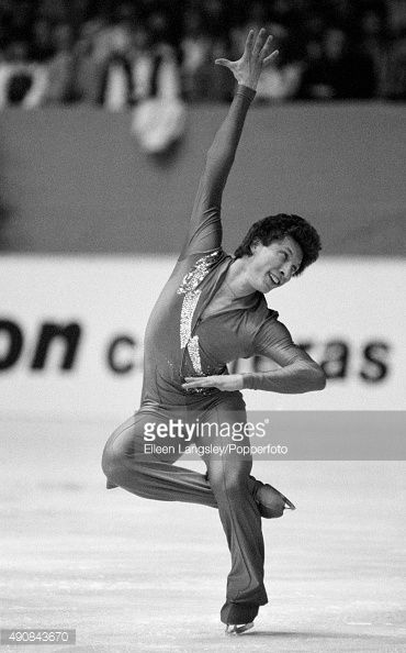 Gold medallist Norbert Schramm of West Germany in the men's figure skating event during the European Figure Skating Championships in Dortmund Germany, circa 1983.