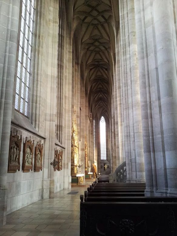 Münster church in Dinkelsbühl