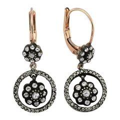 diamond roses earrings http://goo.gl/Xz1YM