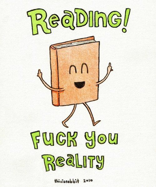 Totally crass, but the book's little middle fingers in the air were what did it for me.