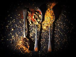 Indian spices #food #indian #photography #ideas #spoons