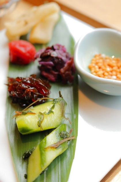 Japanese pickled vegetables, Tsukemono 漬け物