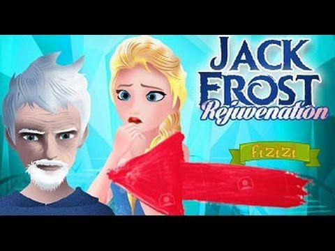 Jack frost en problemas, Elsa podrá ayudarlo? Juegos de frozen