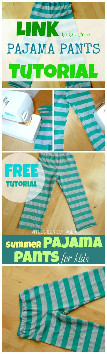 A FREE PAJAMA PANTS TUTORIAL for you. It is intended for hobby sewists just like me, so it's simple, clear and easy to follow. And TWO BASIC THINGS you REALLY NEED TO KNOW when choosing the right JERSEY...