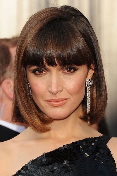 If you're considering adding some fringe, get inspired by these gorgeous hairstyles.