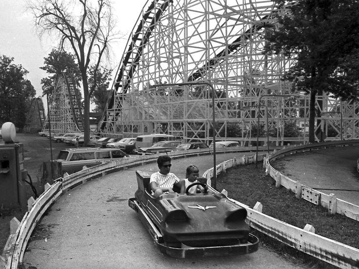 The Turnpike ride at Lake Lansing Amusement Park, June