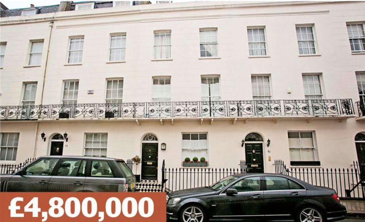 Gerald Road, London SW1W: A terraced townhouse five minutes' walk from Sloane Square's des...