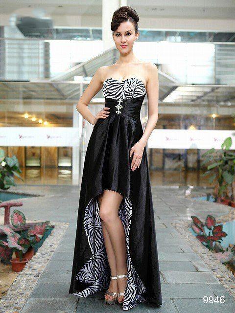 前後丈違い! 美脚で魅了する☆ ブラック系ロングドレス♪ - ロングドレス・パーティードレスはGN 演奏会や結婚式に大活躍!