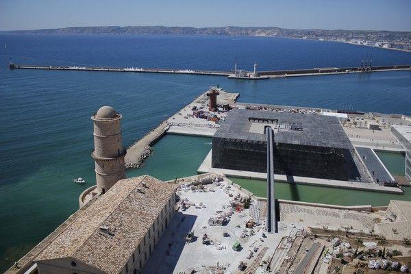 Mucem Marseille 2013 par drone - Evenementiel tournage vidéo drone - Notre actualité - Société - Dronimages
