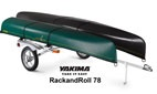 Yakima's RackAndRoll 78 Canoe and Kayak Trailer