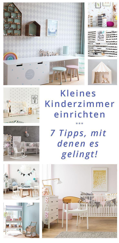 Kleines Kinderzimmer einrichten – 7 Tipps, mit denen es gelingt