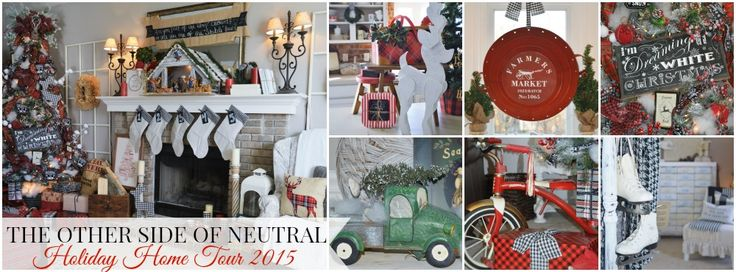 1000 Images About Holiday Home Tours On Pinterest Rustic Christmas