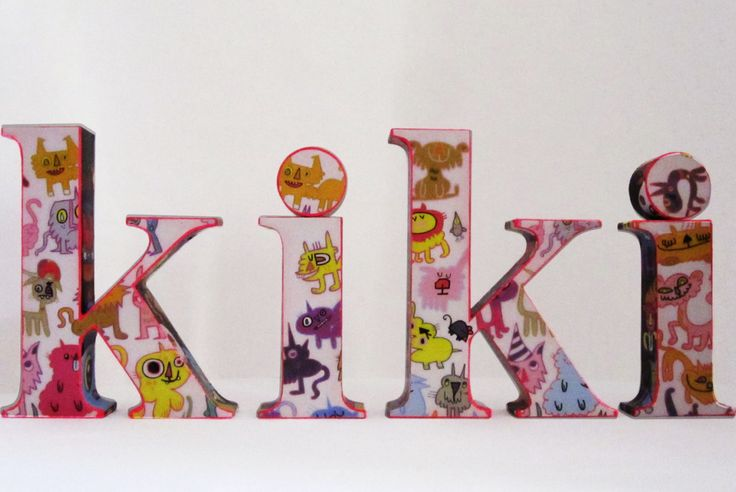Personalised Baby Name Letter for Nursery by MaisonFlamingo on Etsy