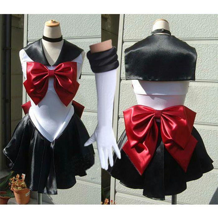 Sailor Moon Trista Pluto make-up cosplay costume Halloween costume