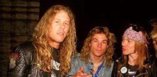 Metallica Call Guns N' Roses 'A Nostalgia Act'