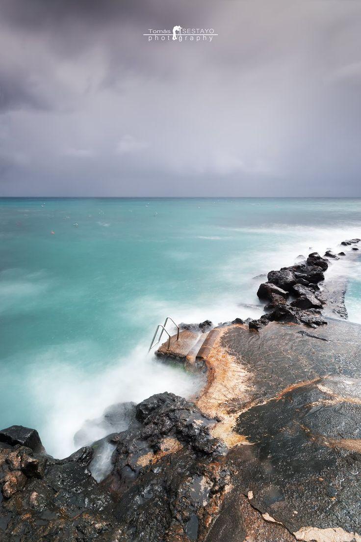 Mal tiempo en Punta Mujeres