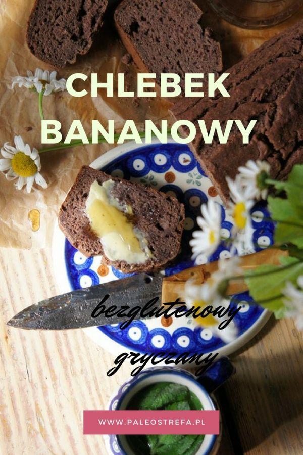 Chlebek bananowy (bezglutenowy, gryczany)