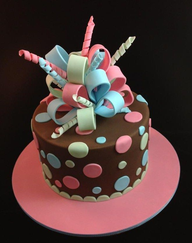 fondant cakes for beginners - Google Search (Chocolate Strawberries Torte) (birthday brownies cake)