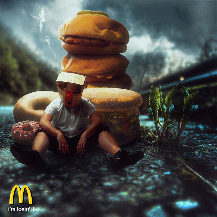 A rather gluttonous advert from our favourite fast food restaurant ;D
