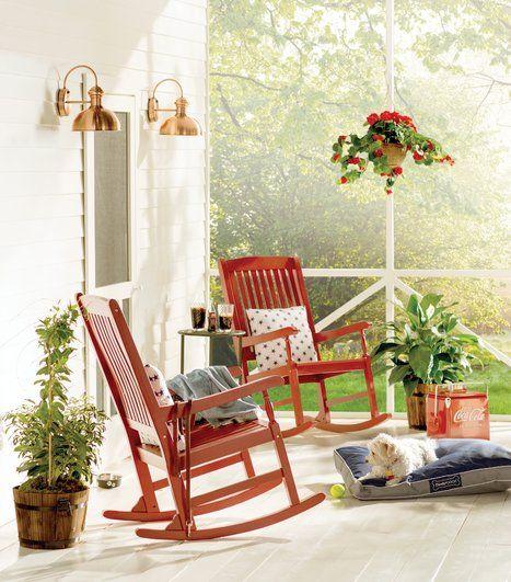 die besten 25+ contemporary outdoor rocking chairs ideen auf, Attraktive mobel