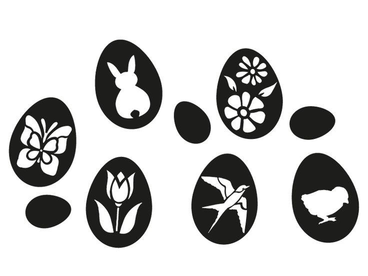 Пасхальные яйца, набор 2 – Lipdus окно наклейки