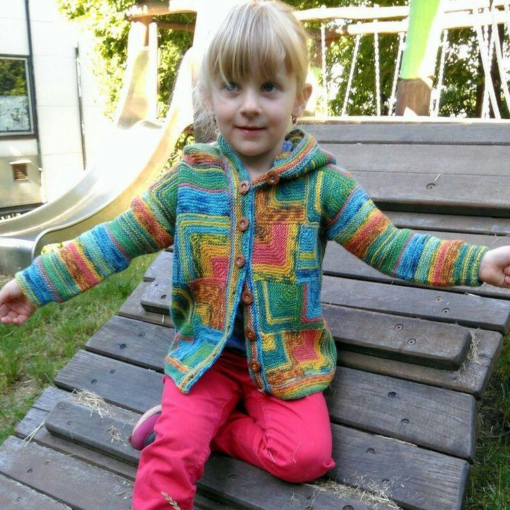 Návod na pletený dětský svetřík