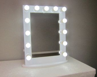 Hollywood lighted vanity mirror 25 deluxe hollywood lighted vanity mirror w by lightedimpressions mozeypictures Images