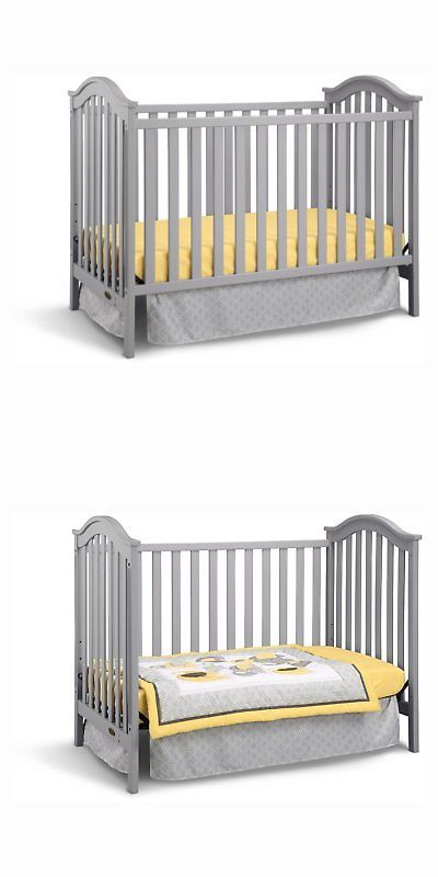 Cribs 2985 Graco Ashland Clic 3 In 1 Convertible Crib Grey It Now Only 135 99 On Ebay