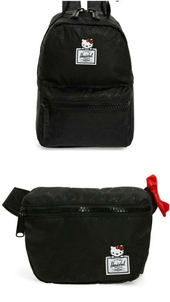 f31b08cea15 Herschel Supply Co. x Hello Kitty Nova Mini Backpack   Fifteen Fanny Pack  Combo