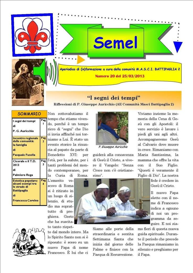 Semel n.20 pagina 1