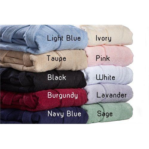 Egyptian Cotton Terry Cloth Robe | eLuxurySupply